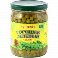 Горошек зеленый «Купцовъ» 450 г.