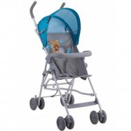 Детская коляска «Lorelli» Light Blue-Grey Hello Bear.