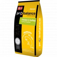 Корм для кошек «ProBalance» Immuno, курица, индейка, 10 кг.