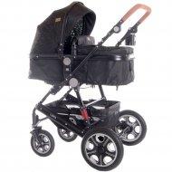 Детская коляска «Lorelli» Lora 3 в 1 Black Circles.