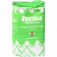 Мука пшеничная «Ferma» высший сорт, 2 кг.