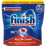 Таблетки для посудомоечных машин «Finish» All in 1 Max, 100 шт