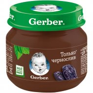 Фруктовое пюре «Gerber» из чернослива, 80 г.