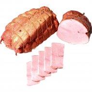 Продукт из свинины «Карковка Минская» копчено-вареный, 1 кг., фасовка 0.5-0.7 кг
