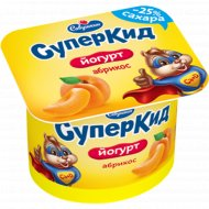 Йогурт «Суперкид» абрикос, 2%, 120 г.