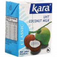 Кокосовое молоко «Kara» 0.2 л.