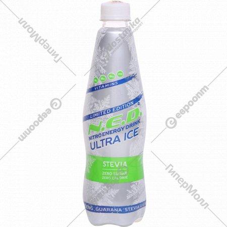 Напиток энергетический «N.E.D. Ultra Ice» 0.5 л.