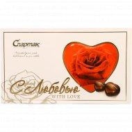 Шоколадные конфеты «Озорная вишня» с карамелью, 123 г.