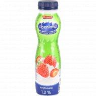 Напиток йогуртный «Alpenland» c клубникой, 1.2%, 290 г.