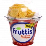 Йогурт «Fruttis» вкусный перерыв, 2.5%, 175 г.