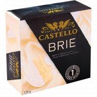 Сыр мягкий «Бри» с белой плесенью Кастелло, 50%, 125 г.