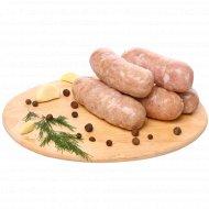 Колбаски куриные, замороженные, 400 г.