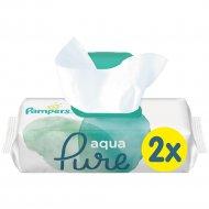 Детские влажные салфетки «Pampers» Aqua Pure, 2х48 шт.