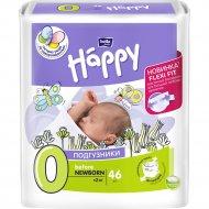 Подгузники для детей «Bella Baby Happy» newborn 2 кг, 46 шт.