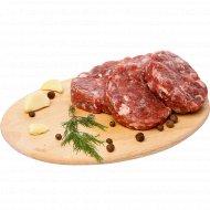 Полуфабрикат «Бифштекс из свинины» замороженный, 400 г.