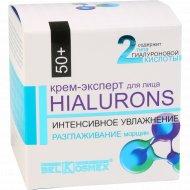 Крем-эксперт для лица «Hialurons» 50+, интенсивное увлажнение, 48 мл.