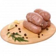 Колбаски из мяса индейки по-домашнему, замороженные, 400 г.