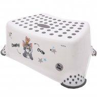 Подставка для ног «Lorelli» Cat and Mouse White 1013035.
