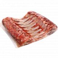 Карэ из баранины, замороженное, 1 кг., фасовка 1.1-1.3 кг