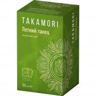 Чай зеленый «Takamori» Летний танец, 20 х 1,8 г.