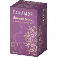 Чай зеленый «Takamori» Дыхание весны с жасмином, 20 х 1,5 г
