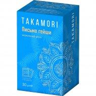 Чай зеленый «Takamori» Письмо гейши» молочный улун, 20 х 1.5 г.