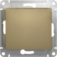 Выключатель «Schneider Electric» Glossa, GSL000411, золотистый