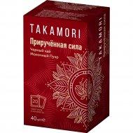 Чай черный «Takamori» Приручённая сила» молочный пуэр, 20 х 2 г.