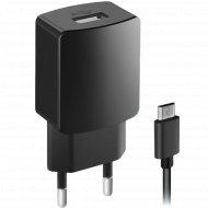 Зарядное устройство «Ginzzu» GA-3004B, 5В/1, кабель микро USB, 1 м.