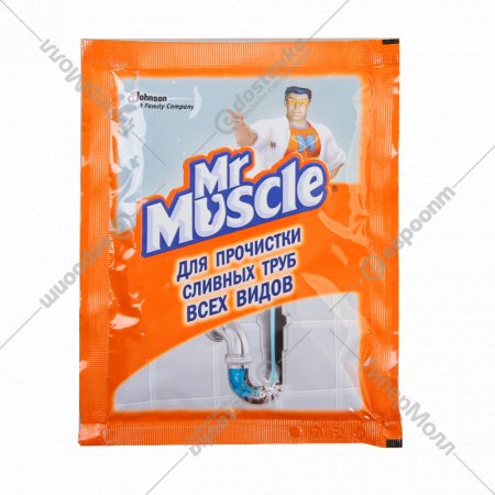 Средство «Mr. Muscle» для засоренных сливных труб, ванн 70 мл.