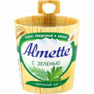 Сыр творожный «Almette» с зеленью, 60%, 150 г.