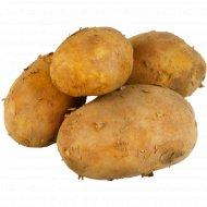 Картофель ранний крупный, 1 кг., фасовка 1.2-1.4 кг