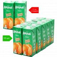Нектар «Добрый» апельсиновый, 10+2.