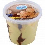 Мороженое сливочное со вкусом рома, изюма и шоколада, 250 г.