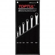 Набор экстра длинных накидных ключей «Toptul» GPAP0602, 8-24 мм.