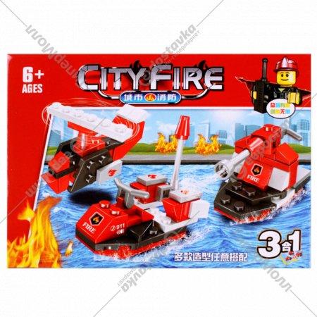Конструктор «Пожарная техника».