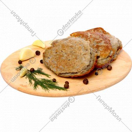 Драники картофельные «Тук-тук Латук» с грибами, 500 г.