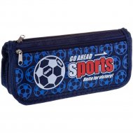 Пенал мягкий «Sport» синий.