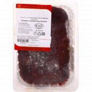 Печень говяжья «По-слуцки» замороженная, 1 кг.