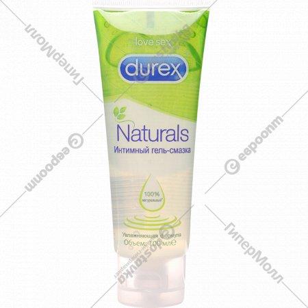 Гель-смазка «Durex» naturals, 100 мл.