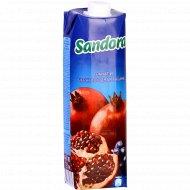 Нектар «Sandora» гранат и черная рябина 1 л.