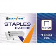 Скобы «Darvish» для степлера №24, 1000 шт.