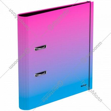Папка-регистратор «Radiance» розовый/голубой градиент.