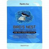Тканевая маска для лица «FarmStay» с экстратом ластачкиного гнезда, 23 мл.
