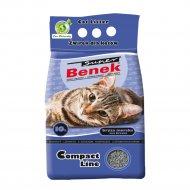 Наполнитель для туалета «Super benek» компакт морской бриз, 10 л.