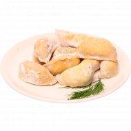 Вареники с картофелем, луком и грибами, 500 г.