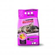 Наполнитель для туалета «Super benek» компакт цитрусовая свежесть, 10 л.
