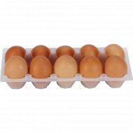 Яйца куриные «1-я Минская птицефабрика» цветные, С-0, 10 шт.