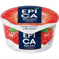 Йогурт «Epica» клубника, 4,8%, 130 г.