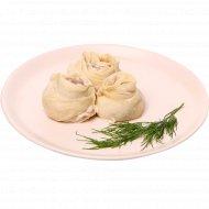 Манты из мяса птицы и свинины, замороженные, 500 г.